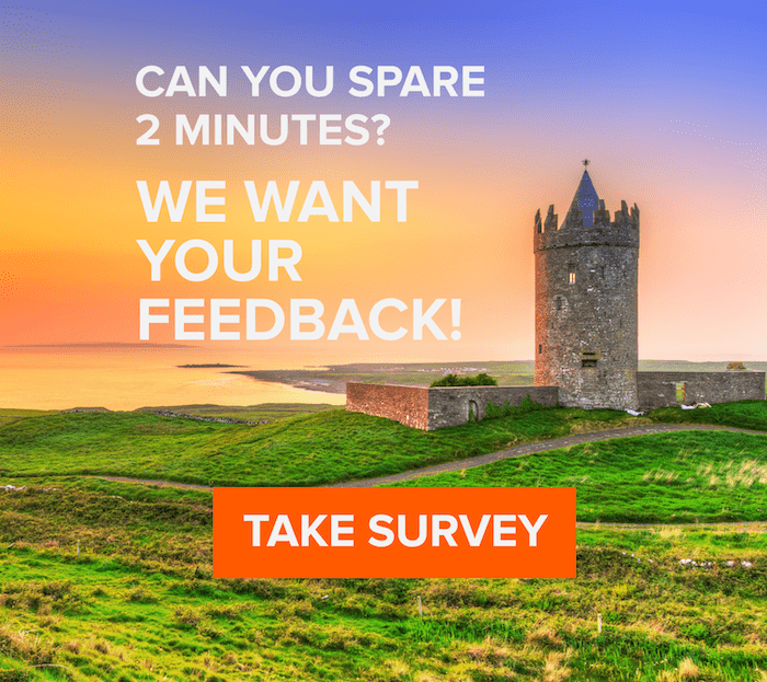 Can you spare 2 minutes? We want your feedback!